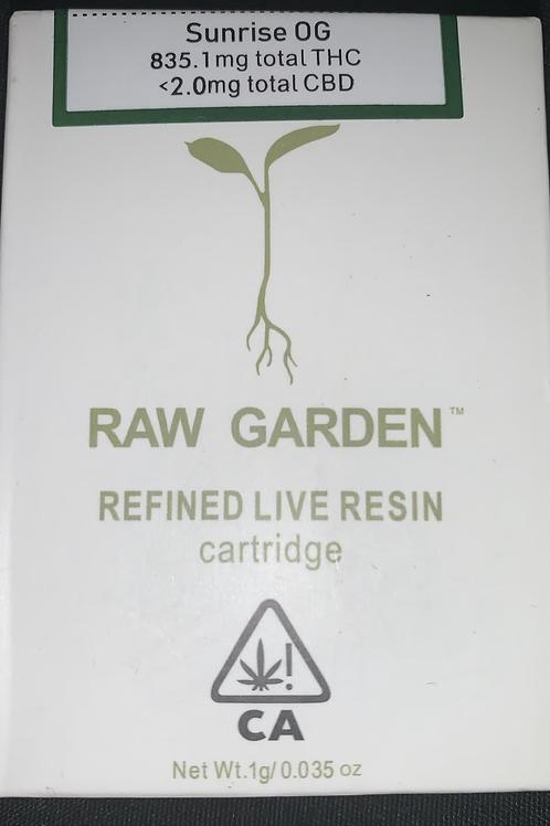 Raw Garden Cart