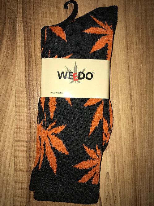 Black & Orange Socks