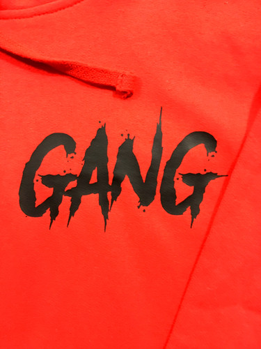 Red Gang Hoodie