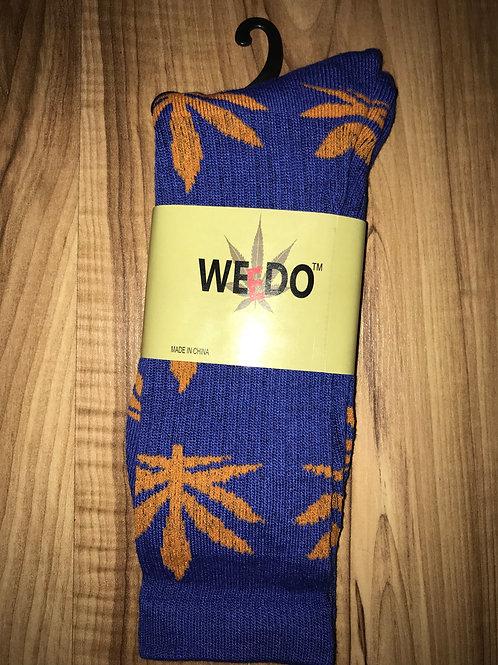 Blue & Orange Socks