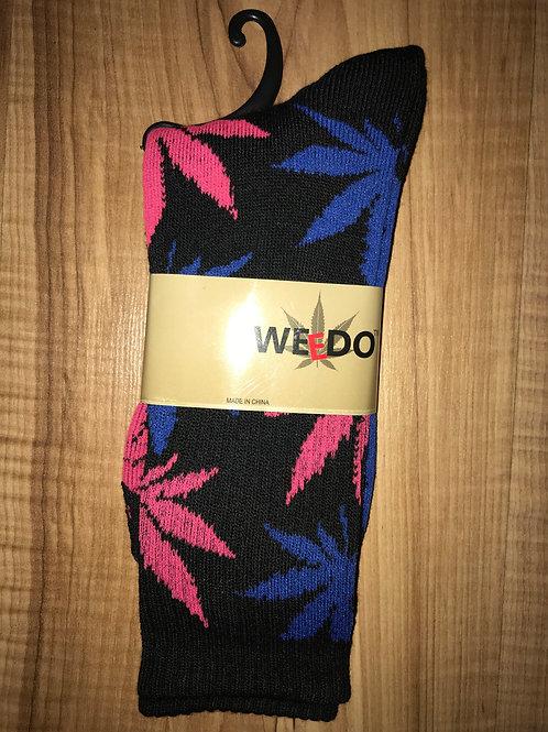 Pink & Blue Socks
