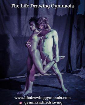 contrasting skin tones dancer pose