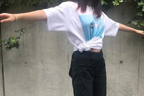 怖くなるときTシャツ