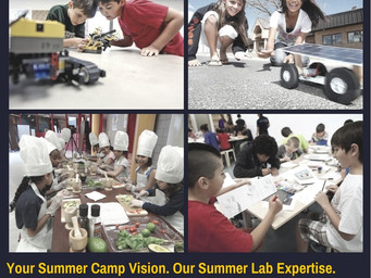 All the Summer Camp Deets for Connectopod & iWONDER STEM TECH 2017
