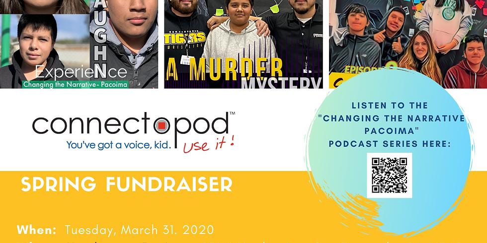Connectopod Spring Fundraiser