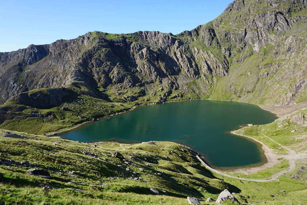 View from Pyg Track