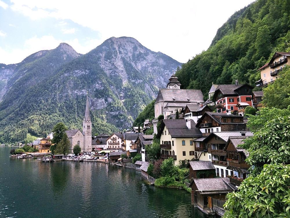Hallstatt - the postcard photo