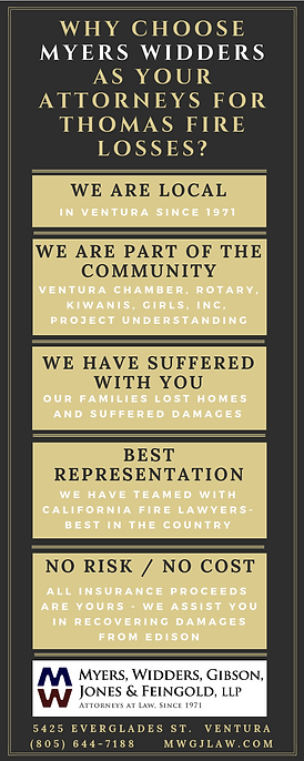 Thomas Fire Infographic