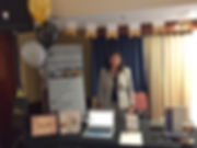 Attorney Jill Friedman works the Myers Widders booth at the 2017 Ventura Chamber of Commerce Spring Small Business Expo at Sheraton Ventura Four Points.