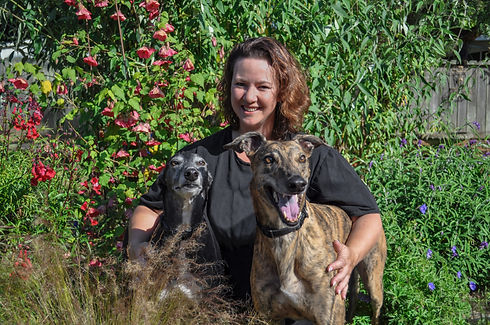 Shanna and the hounds.jpg
