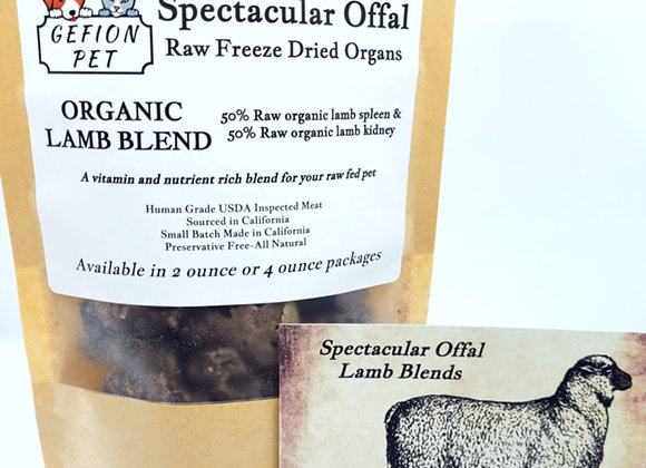 Organic Lamb Blend