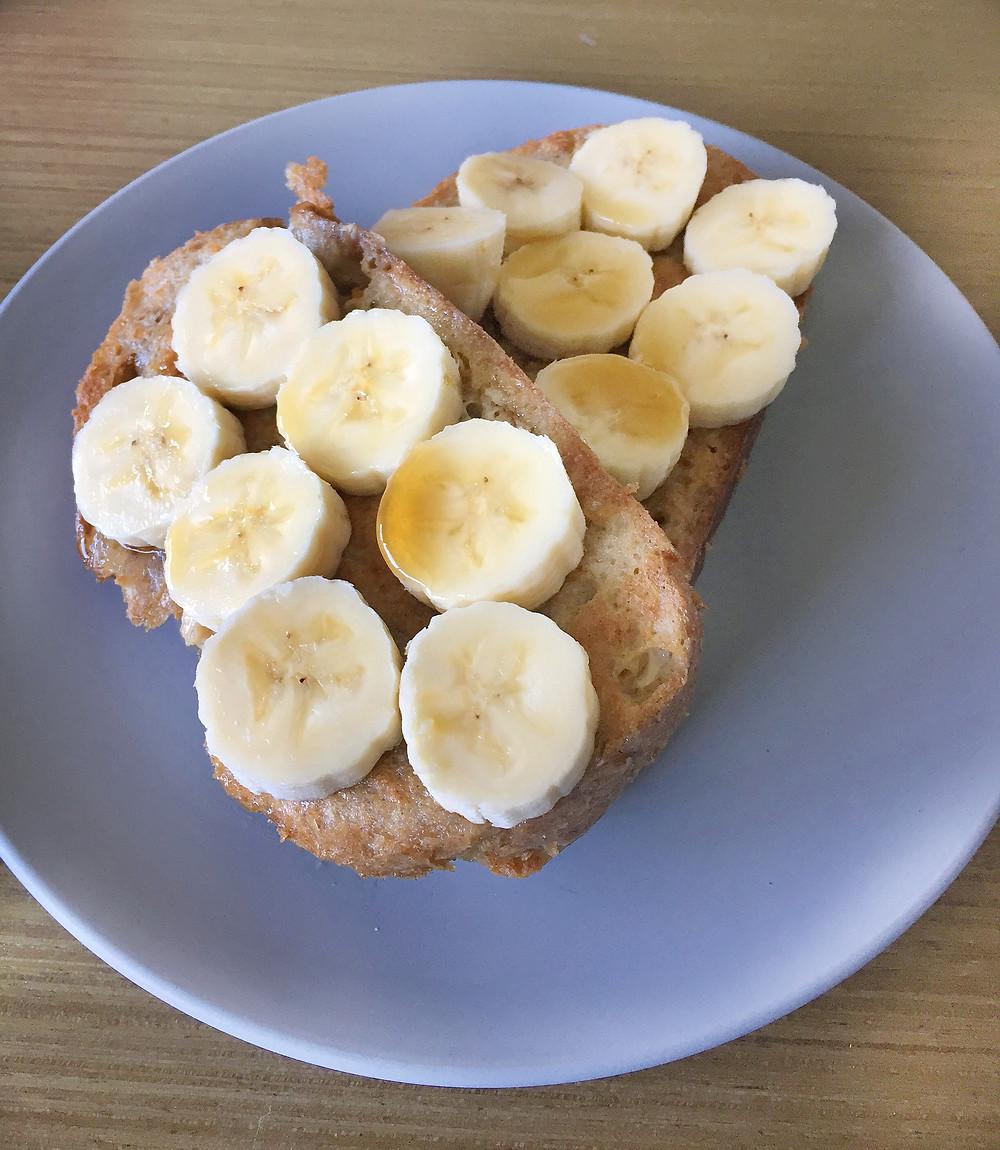 banana on french toast