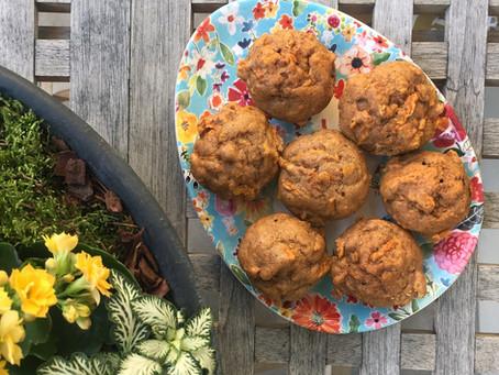 Carrot Cake Mini-Muffins
