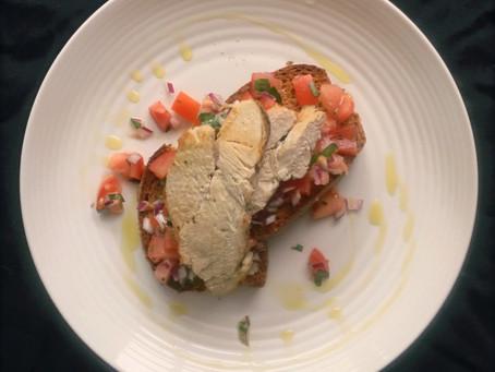Bruschetta with Chicken