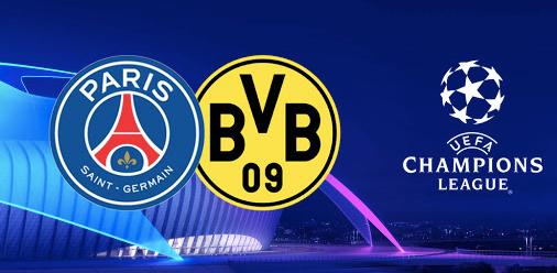 PSG VS DORTMUND I CHAMPIONS LEAGUE I CAFE A I PARIS I DIFFUSION UEFA I PARIS I L