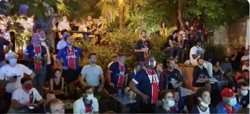 PSG-BAYERN, DIFFUSION AU CAFÉ A  I Retransmissions du match en plein air
