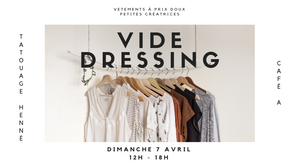 VIDE DRESSING CAFE A I BRUNCH VIDE DRESSING I VINTED ZARA I MANGO I PULL&BEAR I GIRLS VIDE DRESSING PARIS