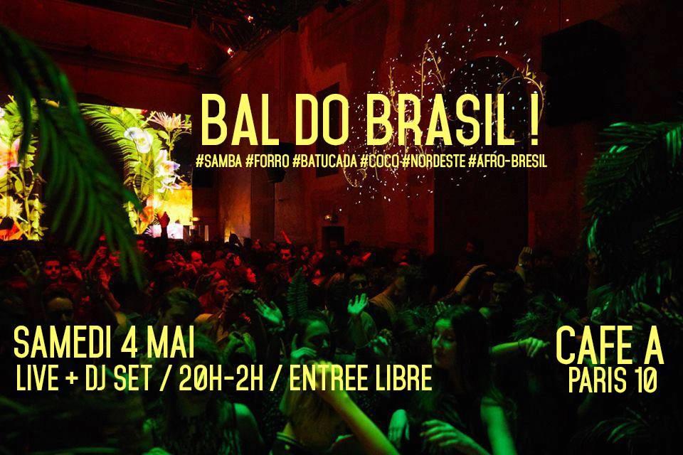 BAL DO BRASIL I #SAMBA #AFRO #BRESIL #CAFEA #PARIS #DJSET #LIVE #PARIS