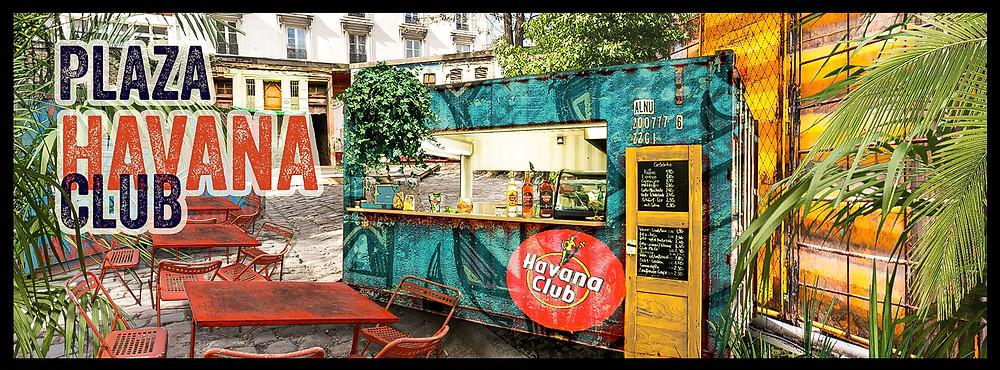 Plaza Havana Club 2018  I Paris I Café A I Gare de l'est