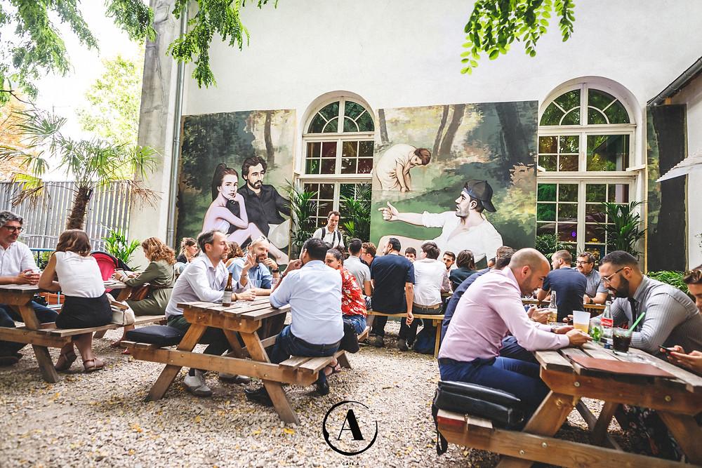 15 terrasses parisiennes où aller s'attabler en plein air- Café