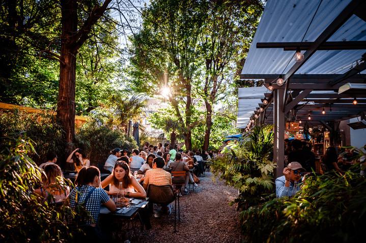 Le Café A réouvre sa grande terrasse