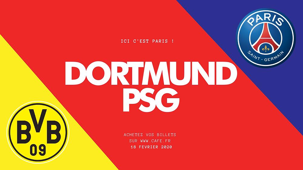 BAR MATCH FOOT DORTMUND VS PSG - DIFFUSION MATCH - CAFE A