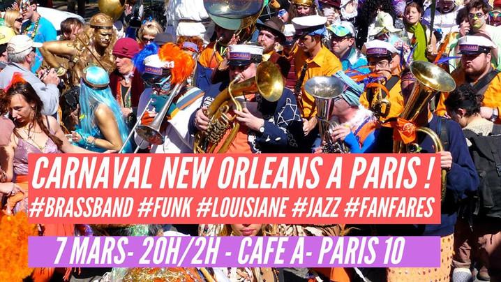 Carnaval New Orléans à Paris ! I Café A
