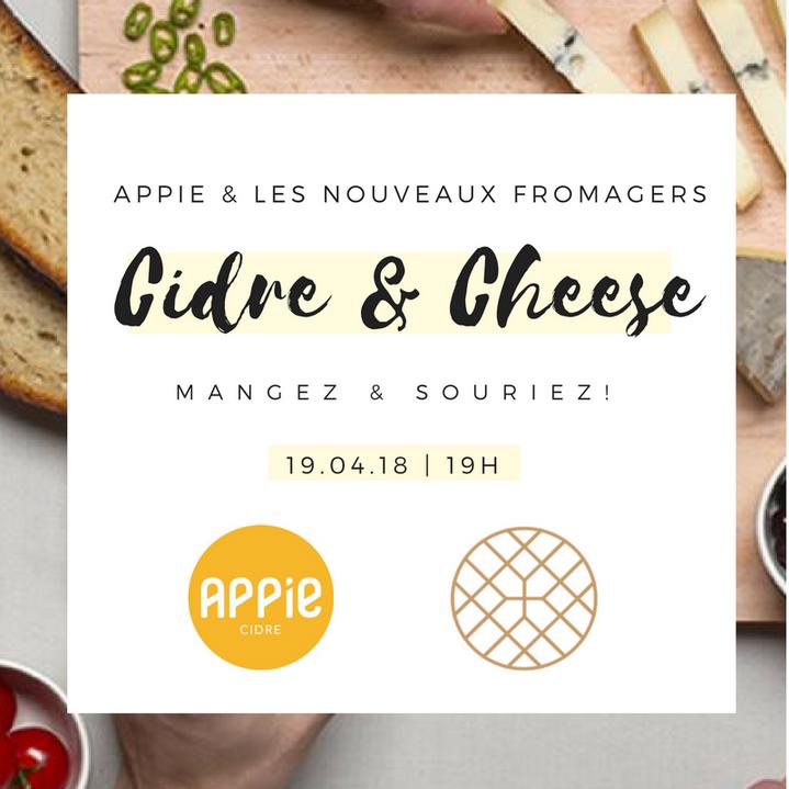 Apéro dégustation : Les Nouveaux Fromagers x Appie