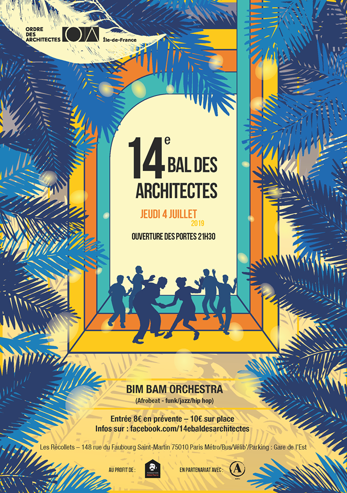14e bal des architectes 2019