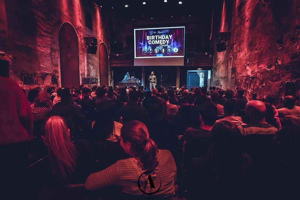 Next Comedy I Humour I Stand-Up I Paris I Café A I Next Comedy Circus
