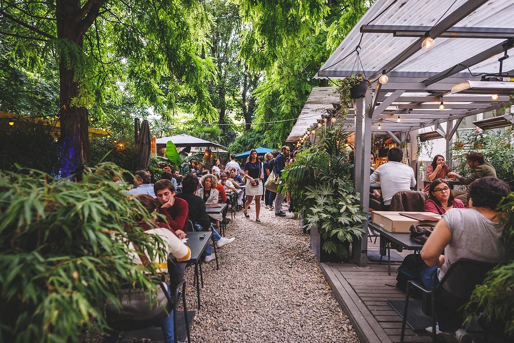 Café A-Restaurant-Paris Canalstmartin-Gare-de-l'est-