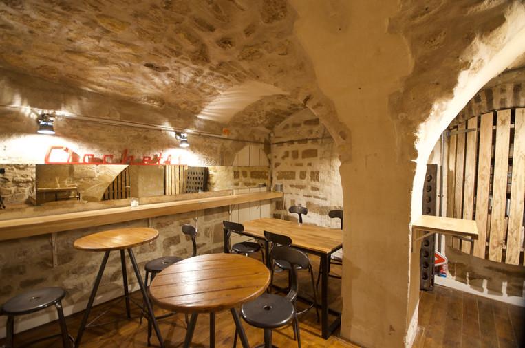 Bar à vins Cicchetti Paris 2eme Sous sol