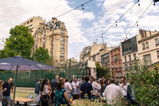 Break I  Terrasse I Tennis Court Paris I Restaurant I 75017 I Californie I Newtable  I Break  I 119 Boulevard Pereire 75017 I Restaurant