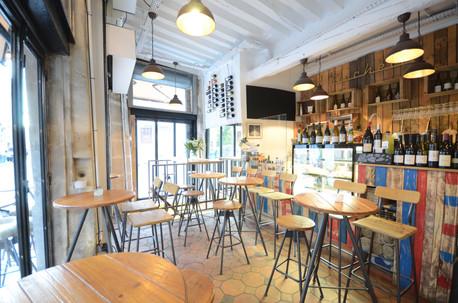 Bar à vins Cicchetti Paris 2eme Salle principale