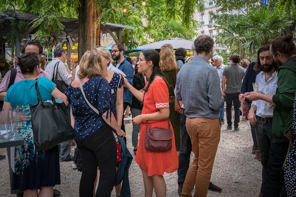 Bal des architectes 2019  I Maison des architectes  I Couvent des Recolletes I Gare de l'est I Soirée PArty I Garden Party Paris I Café A I Paris 10