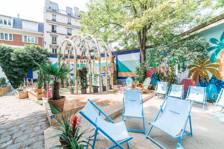 Eden Garden - Café A - Bombay Sapphire - Terrasse Paris - FUGU - 2019