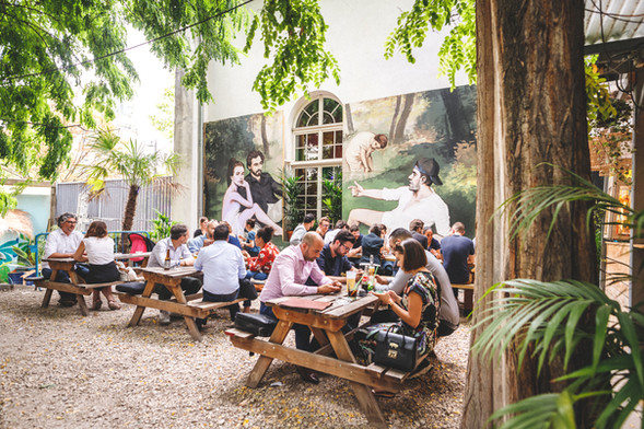 Déjeuner sur l'herbe I 2019 I Edouard Manet I Tableau I Oeuvre I PBOY PASCAL BOYART I Musée I paris Musée Bar I Best Bar in Paris I insolite bar