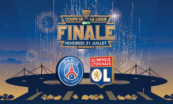 Finale De La Coupe de la ligue / PSG vs OL - Café A I  Vendredi 31 Juillet 2020