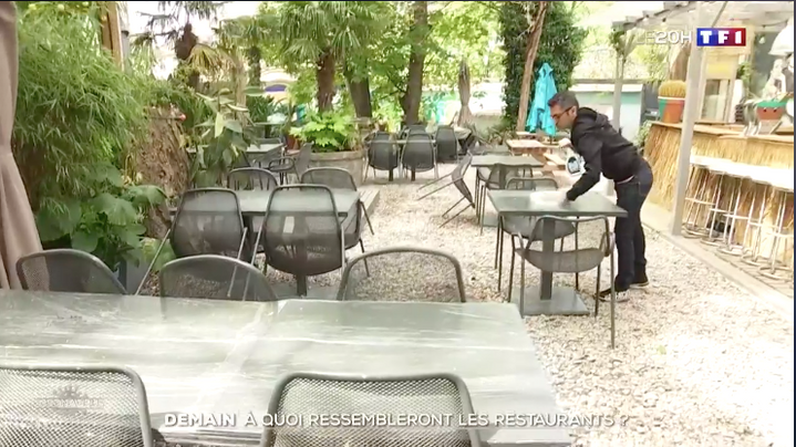 Déconfinement : à quoi ressembleront les restaurants ? Reportage JT TF1