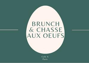 BRUNCH & CHASSE AUX OEUFS 2019 I FETE DE PAQUES I BRUNCH ENFANTS PARIS 2019 CANAL ST MARTIN