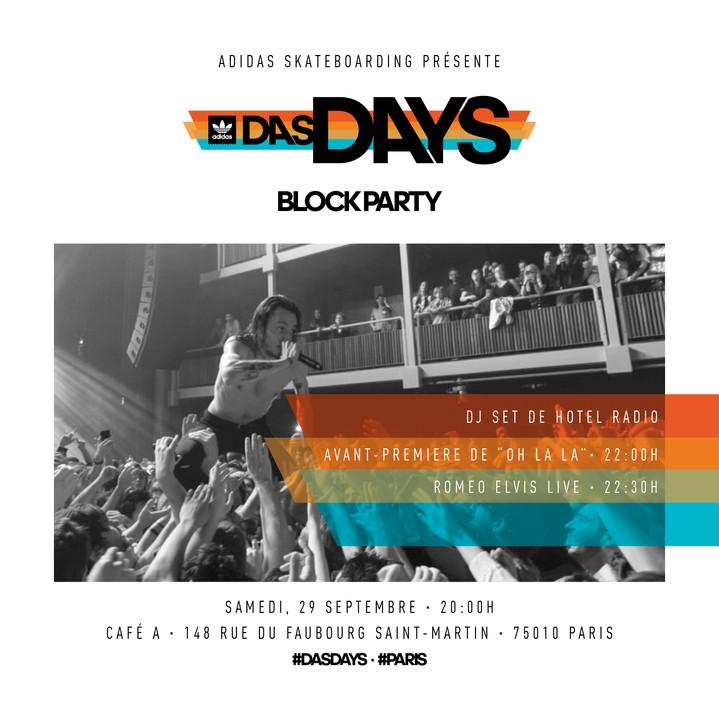 DAS DAYS // ADIDAS SKATEBOARDING