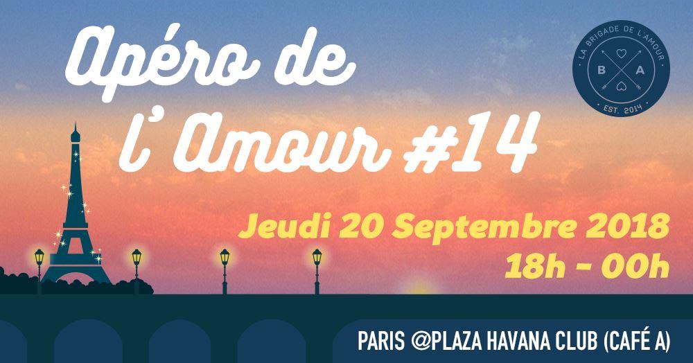 La brigade de l'amour I Apéro de l'amour #14 I Café A Plaza Havana Club