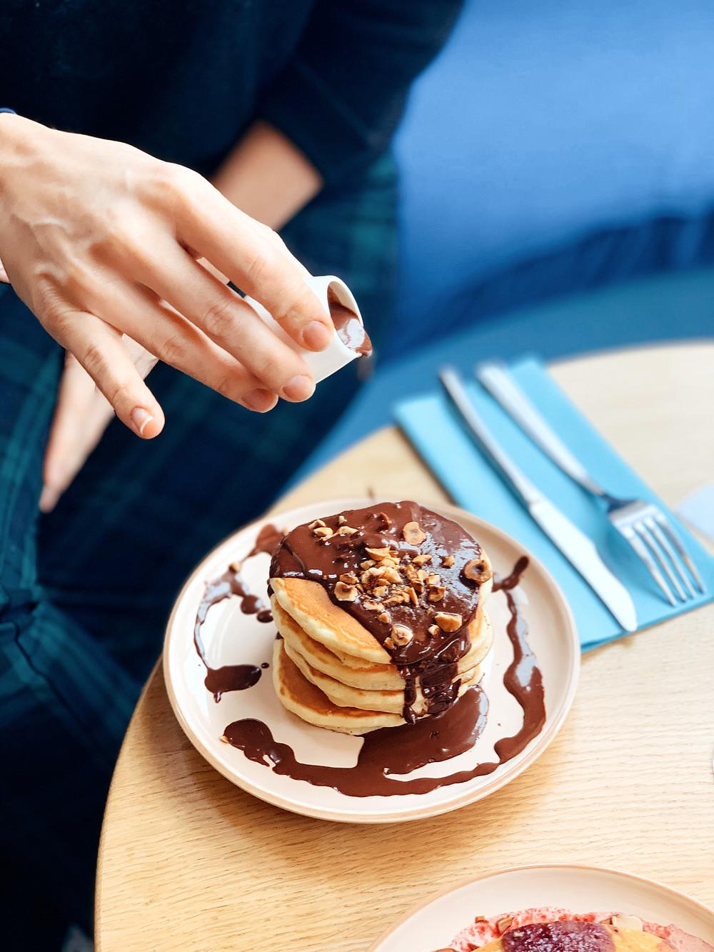 Chocolat Pancakes I Brunch Break I Restaurant Break