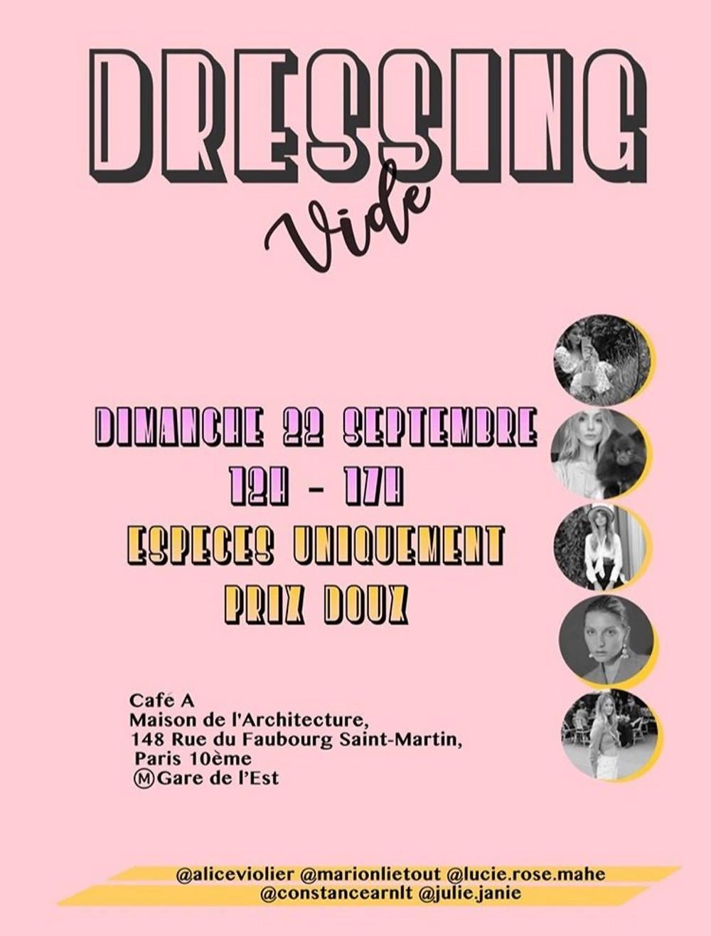 Vide Dressing I Café A I Gare de l'est I @alicevioler @constancearnlt