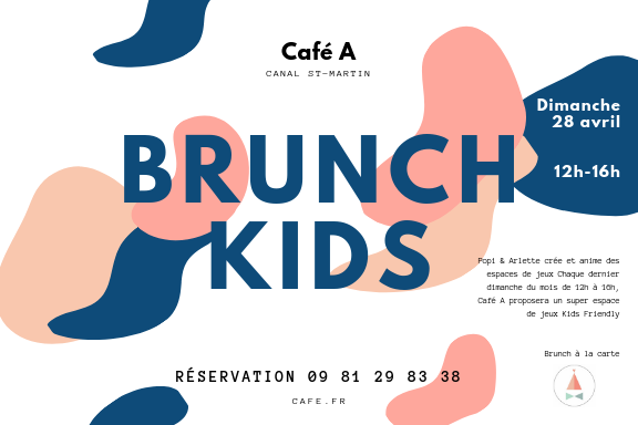 Brunch KIDS FRIENDLY I PARIS I Ou bruncher à paris avec des enfants I Popi & Arlette I Brunch Enfants I Esace Kids I Paris Canal St-Martin  I Ou bruncher Paris 10eme