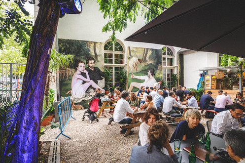 Dejéuner - Café A-terrasse-couvent-des-recollets-paris10