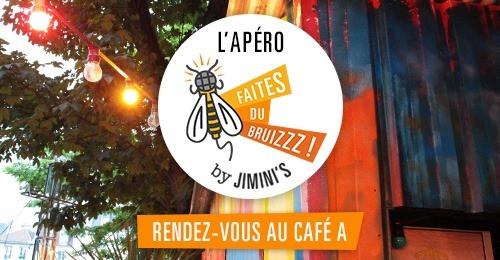 Apéro / Jimini's I Café A I Paris  I Gare de l'est I Paris 10 I Abeille x Café A