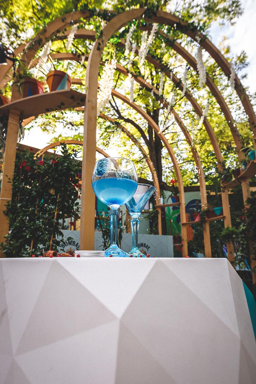 Café A I Bombay Sapphire I Eden Garden I Terrasse au Café A I gare de l'est paris