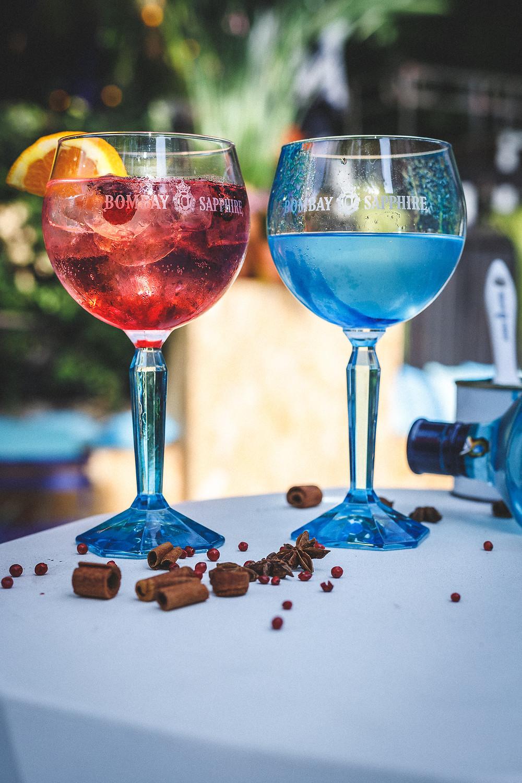 Café A I Bombay Sapphire I Eden Garden I Terrasse au Café A I gare de l'est paris I Cocktail I gin tonic paris