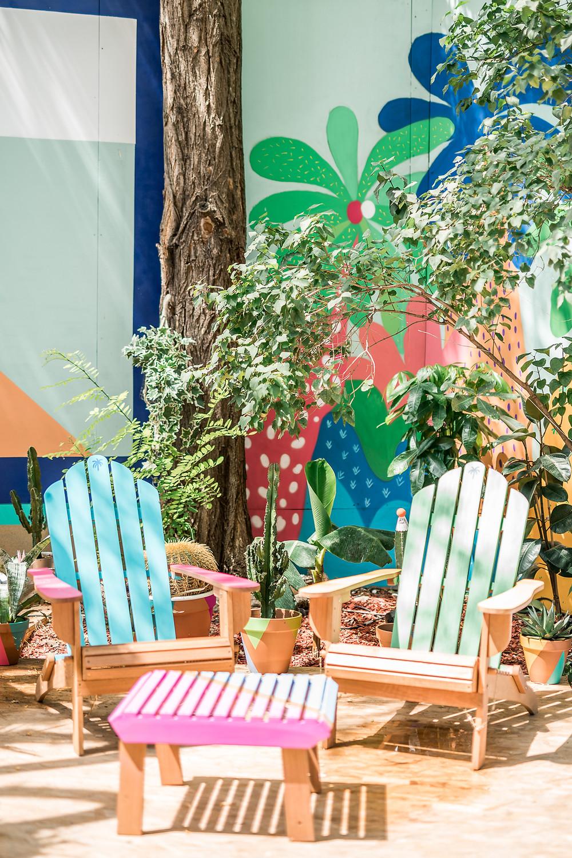 Eden Garden I Bombay Sapphire I Café A I Gare de l'est I Terrasse éphémère I Stir Creativity I un trait de créativité i Edengarden I 2019